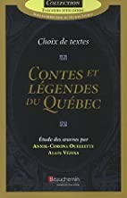 Contes et légendes du Québec (French…