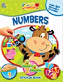 Jonathan Miller: Numbers - My First Sticker Book (My First Sticker Book Series)