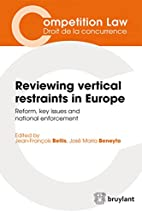 reviewing vertical restraints in europe…