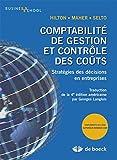 Hilton: Comptabilité de gestion et contrôle des coûts stratégies des décisions en entreprises