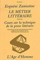 Le Métier littéraire by…