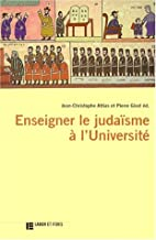 Enseigner le judaisme a l'universite…