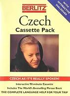 Berlitz Czech (Czech Edition) by Cassette…