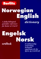 Berlitz Norwegian-English Dictionary /…