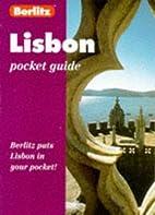 Berlitz Pocket Guide Lisbon by Berlitz…