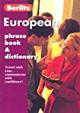 Berlitz Publishing: Berlitz European Phrase Book & Dictionary