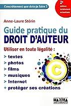 Guide pratique du droit d'auteur : utiliser…