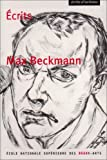 Beckmann, Max: Ecrits (French Edition)