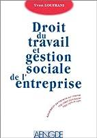 Droit du travail et gestion sociale de…