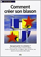 Comment creer son blason by Aedis