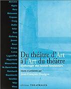 Du théâtre d'art à…