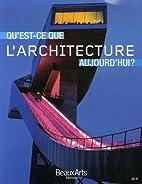 Qu'est-ce que l'architecture…