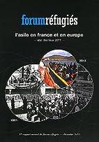 L'asile en France et en Europe : Etat…
