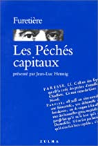 Les peches capitaux by Antoine Furetiere