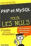 Valade, Janet: PHP et MYSQL (French Edition)