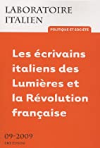 laboratoire italien. politique et societe, n…