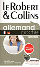 Le Robert & Collins poche Allemand :…