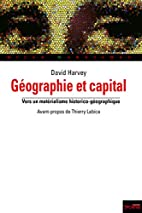 Géographie et capital (French Edition) by…