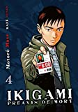 Acheter Ikigami volume 4 sur Amazon