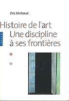 Histoire de l'art : Une discipline…