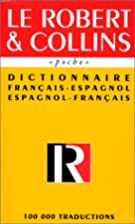 Robert & Collins poche espagnol by Collectif