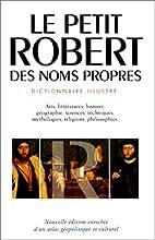 Petit Robert 2 by Paul Robert