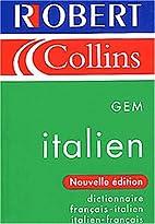 Dictionnaire français-italien et…