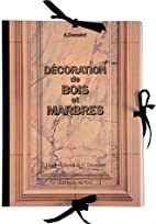 Decoration De Bois Et Marbres (French…