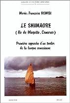 Le shimaore : première approche d'un parler…