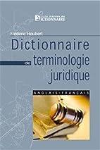 Dictionnaire de terminologie juridique…