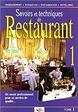 Ferret: Savoir et techniques de restaurant, tome 1 (French Edition)