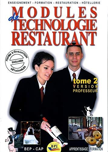 modules-de-technologie-restaurant-cap-tome-2-version-professeur