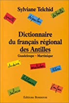 Dictionnaire du français régional des…