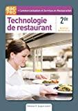 Cardinale: Technologie de restaurant 2e Bac Pro (French Edition)
