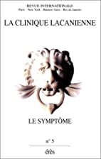 Revue. Le Symptôme by La Clinique…
