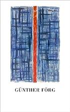 Günther Förg, les muses sont les filles de…
