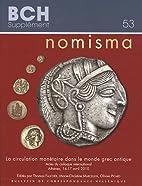 Nomisma : la circulation monétaire dans le…