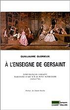 A l'enseigne de Gersaint :…