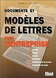 Taylor, Shirley: Documents et Modèles de lettres pour l'entreprise (French Edition)