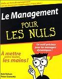 Nelson, Bob: Le management pour les nuls (French Edition)