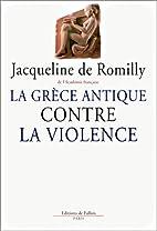 La Grèce antique contre la violence by…
