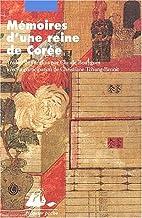 Mémoires d'une reine de Corée by Dame Hong