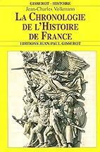 La chronologie de l'histoire de France…