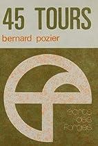 45 tours by Bernard Pozier