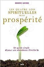 Les quatre lois spirituelles de la…