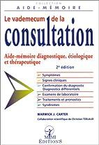 Le vademecum de la consultation 2e édition…