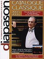 Catalogue Classique 2005-2006 by François…