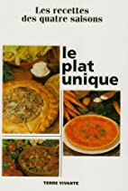 Le plat unique by Collectif
