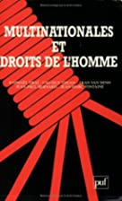 Multinationales et droits de l'homme by…