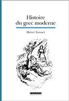 Histoire du grec moderne : La formation…